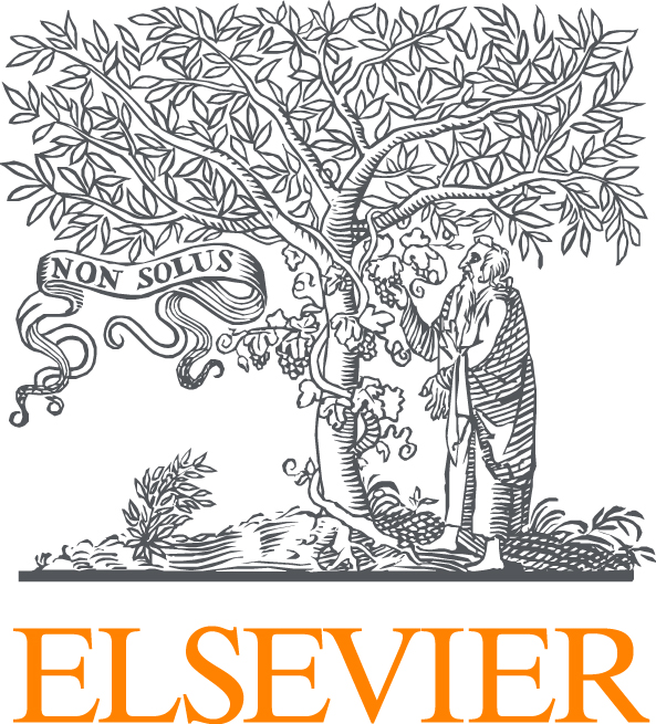 Elsevier logo (colour)